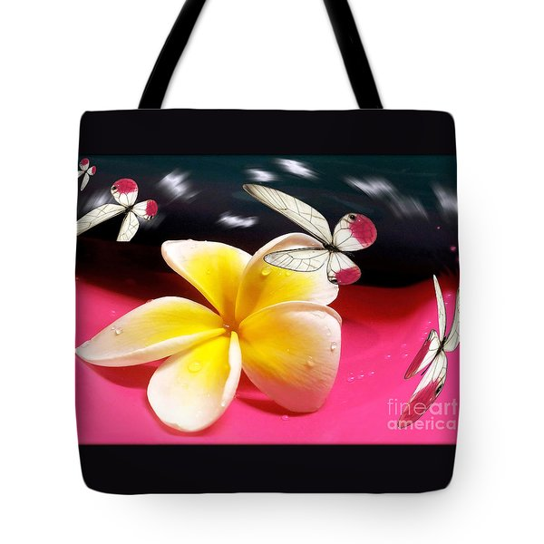 Nature In Orbit Tote Bag