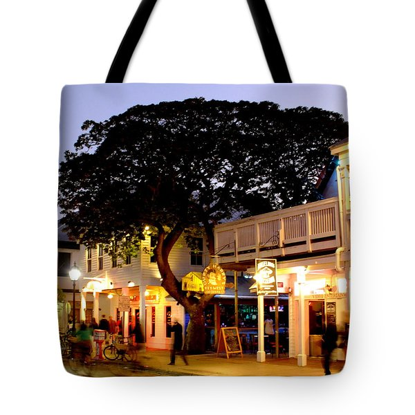 Nature Within The City Tote Bag by Karen Wiles