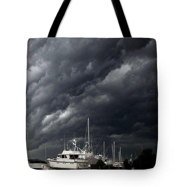 Nature's Fury Tote Bag by Karen Wiles