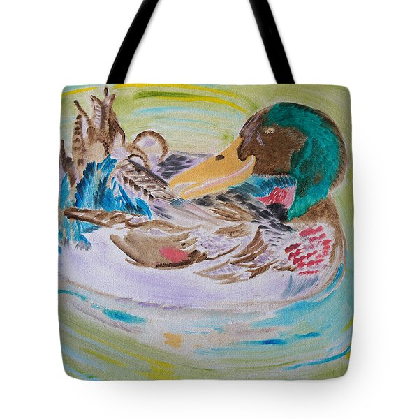 Nature's Music Tote Bag by Meryl Goudey