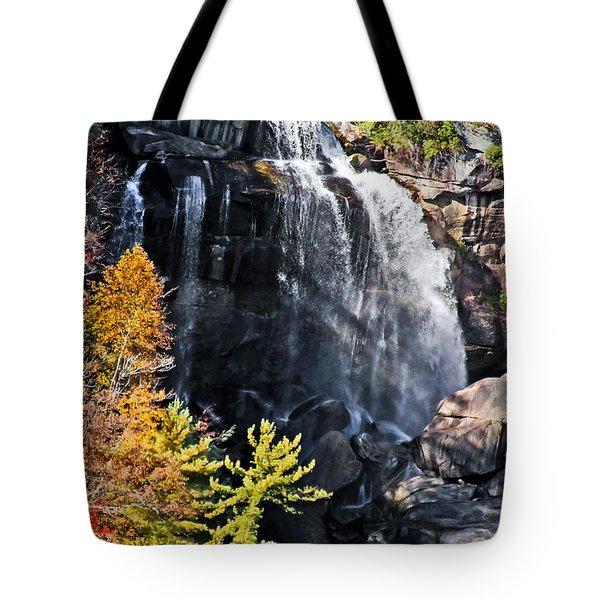 Nc Waterfalls Tote Bag