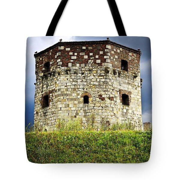 Nebojsa Tower In Belgrade Tote Bag by Elena Elisseeva