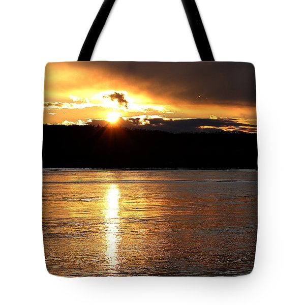 Tote Bag featuring the photograph Nebraska Sunset by Elizabeth Winter