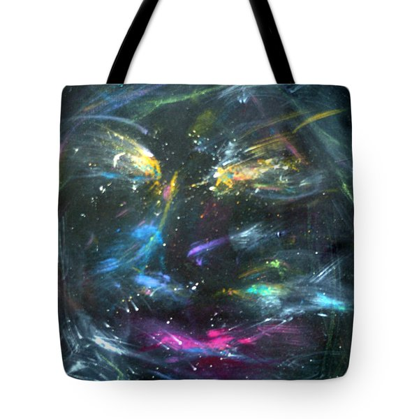 Nebula's Face Tote Bag