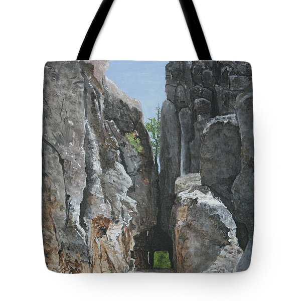 Needles Highway Tote Bag