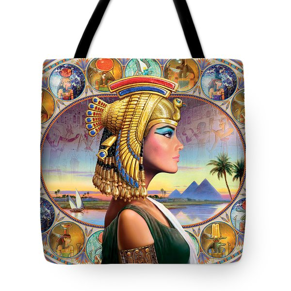 Nefertari Variant 3 Tote Bag by Andrew Farley