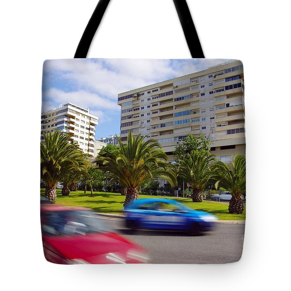 Neighborhood Unrest Tote Bag by Carlos Caetano