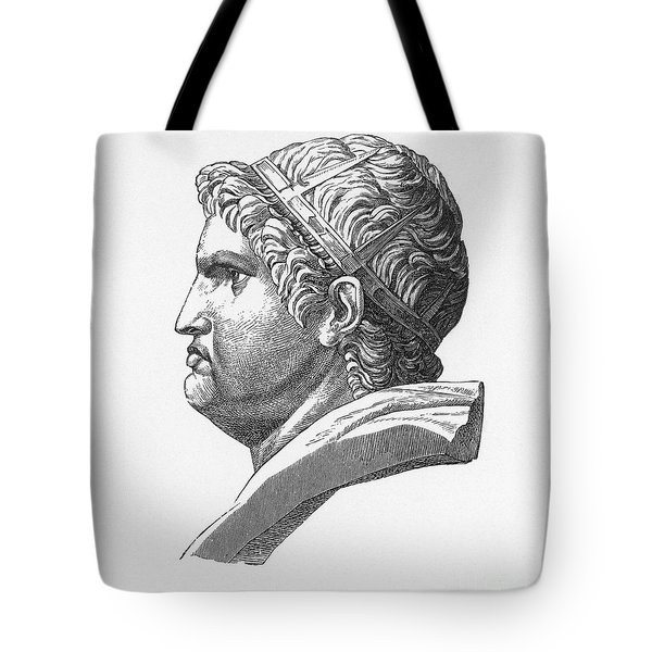 Nero (37-68 A.d.) Tote Bag by Granger