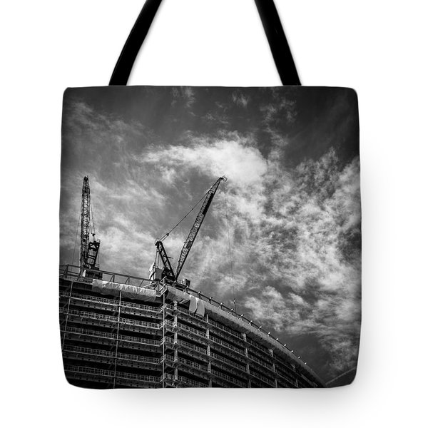 New Buildings Tote Bag