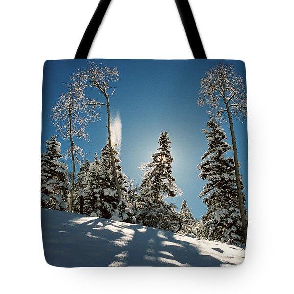 New Fallen Snow Tote Bag