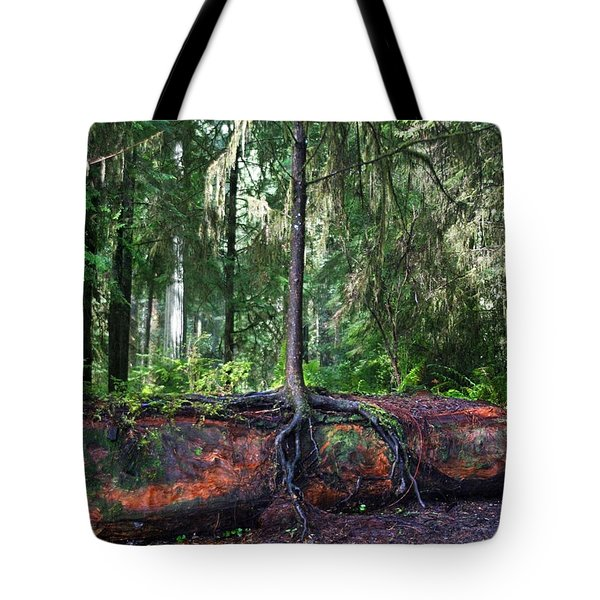 New Growth Tote Bag by Anthony Jones