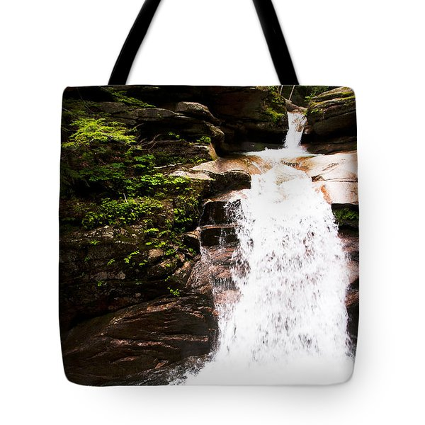 New Hampshire Waterfall Tote Bag