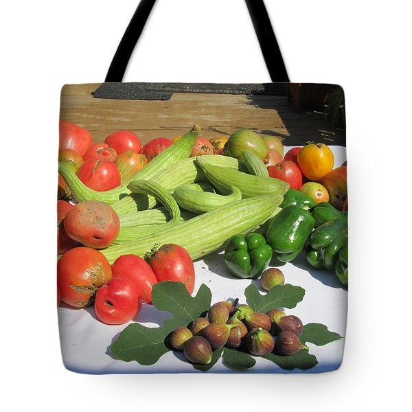 Tote Bag featuring the photograph New Harvest by Tina M Wenger