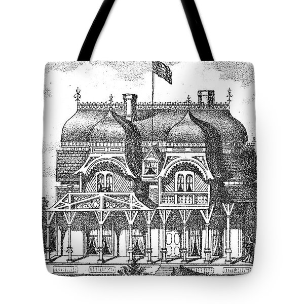 New Jersey: House, C1876 Tote Bag by Granger