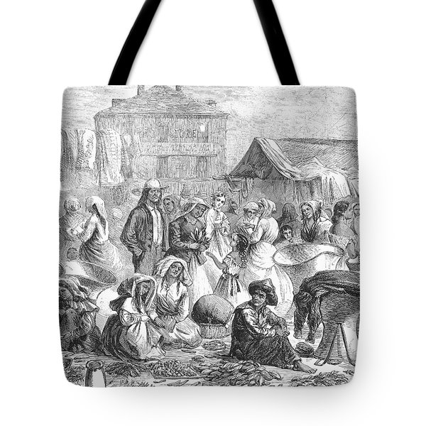 New Orleans: Market, 1866 Tote Bag by Granger