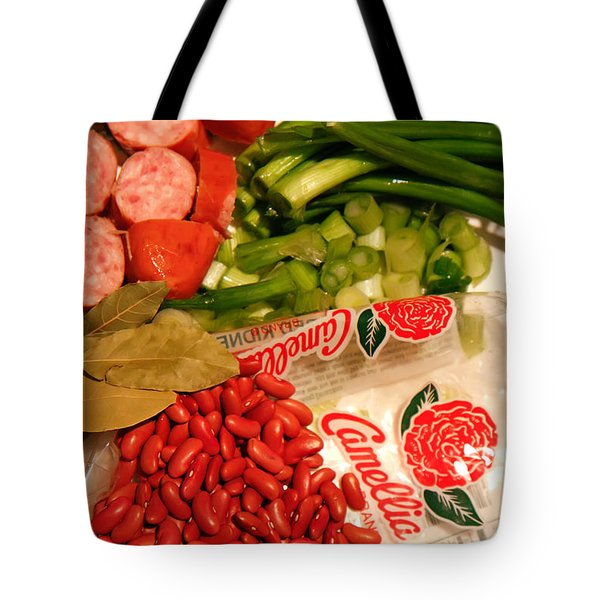 New Orleans' Red Beans And Rice Tote Bag