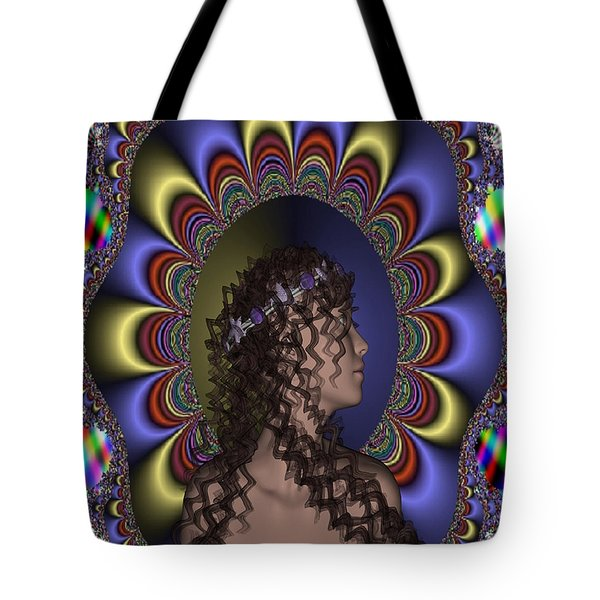 New Romantic Tote Bag by Matthew Lacey