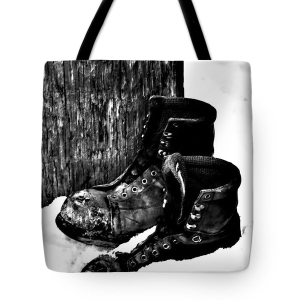 New Shoe Drop Off Tote Bag by Jerry Cordeiro