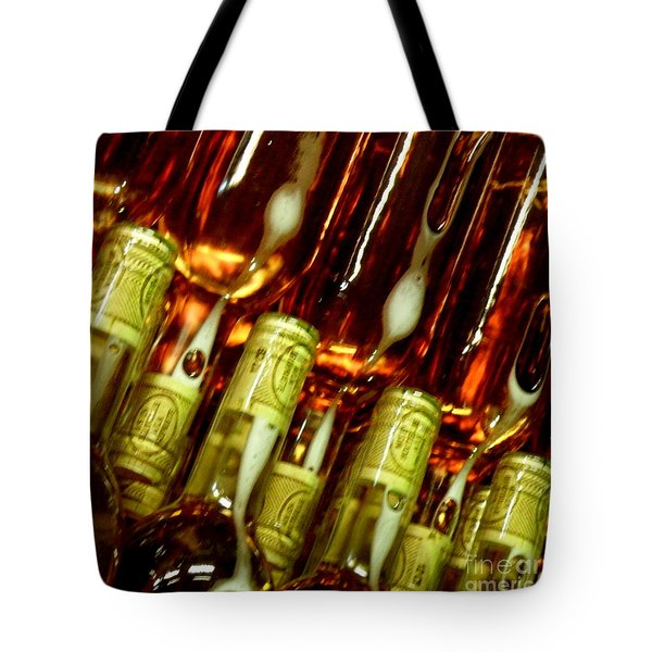 Tote Bag featuring the photograph New Wine by Lainie Wrightson