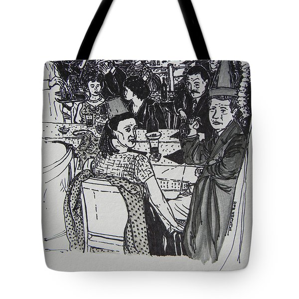 New Year's Eve 1950's Tote Bag