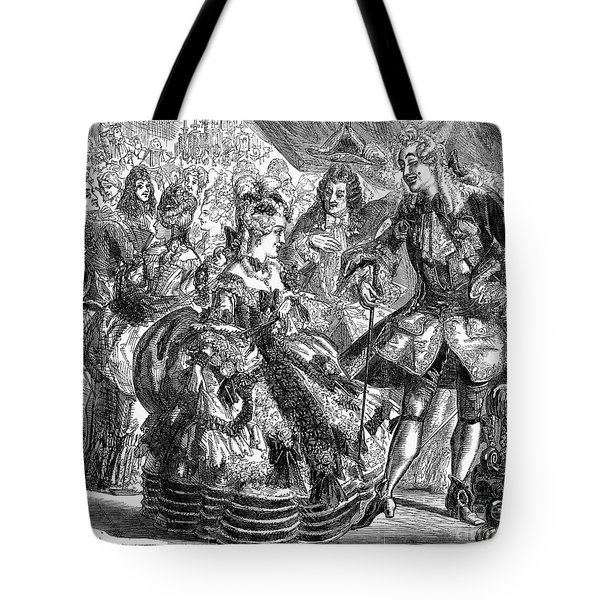 New Years Eve Ball, 1866 Tote Bag by Granger