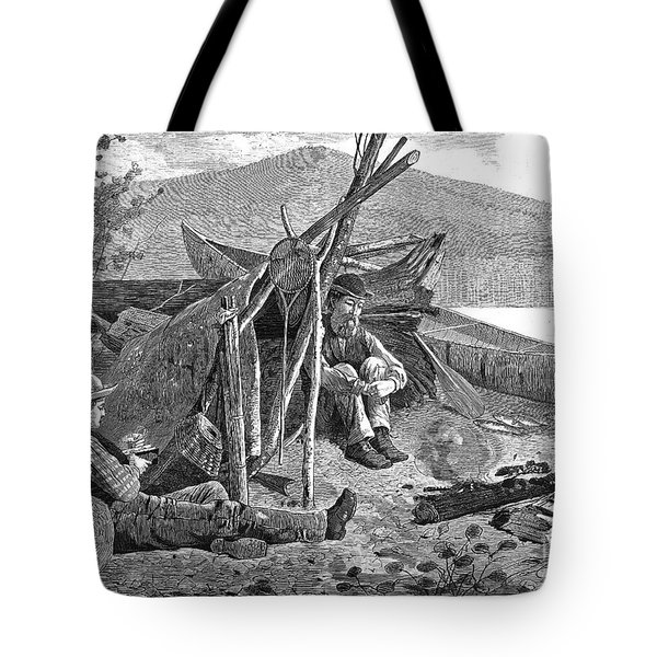 New York: Camping, 1874 Tote Bag by Granger
