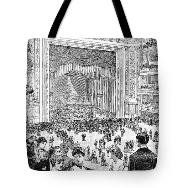 New York Charity Ball, 1884 Tote Bag by Granger