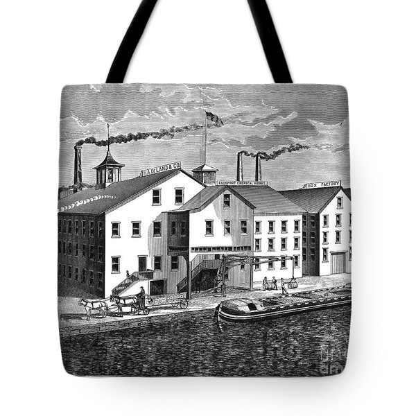 New York: Chemical Works Tote Bag by Granger