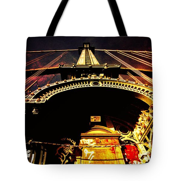 New York City Architecture Tote Bag by Vivienne Gucwa
