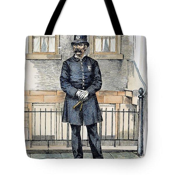 New York City Policeman Tote Bag by Granger