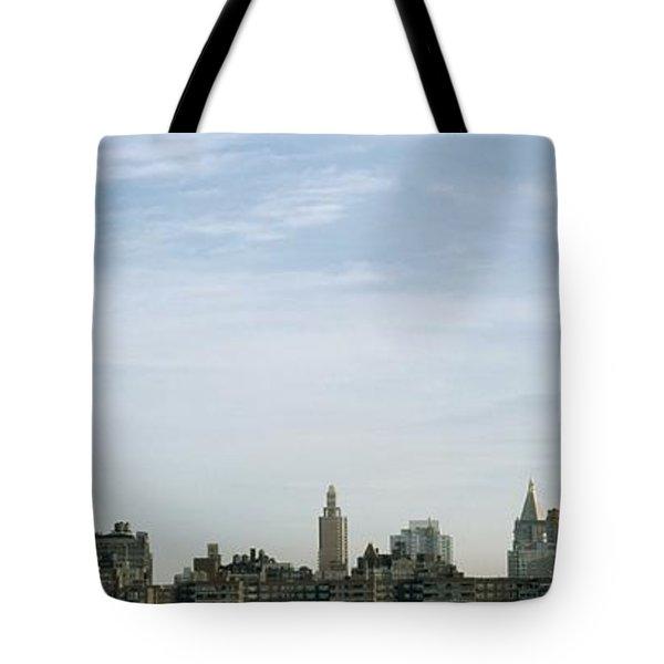 New York City Skyline Tote Bag by Axiom Photographic