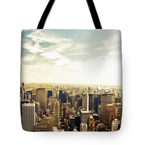 New York City Tote Bag by Vivienne Gucwa