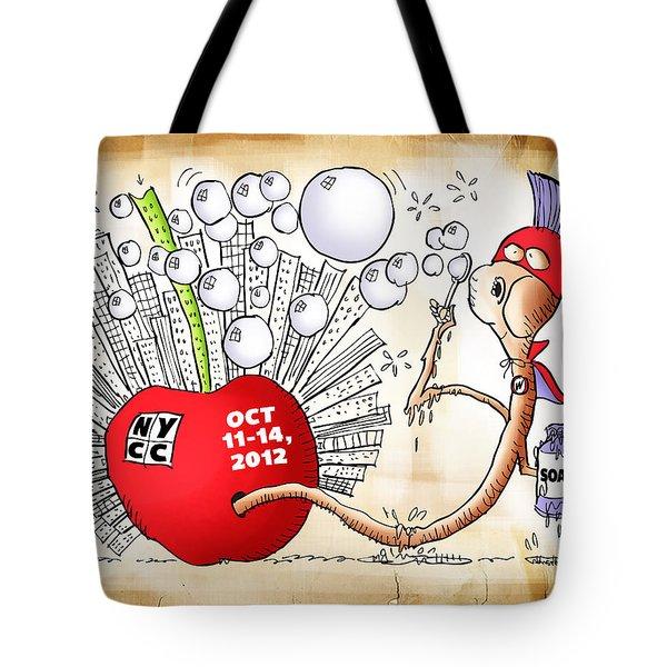 New York Comic Con 2012 Tote Bag