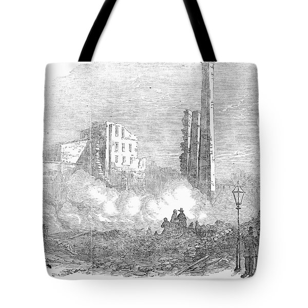 New York: Fire, 1853 Tote Bag by Granger