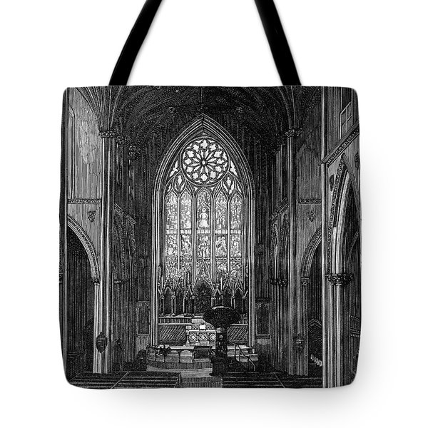 New York: Grace Church Tote Bag