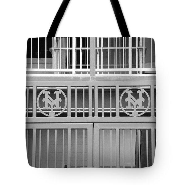 New York Mets Jail Tote Bag by Rob Hans