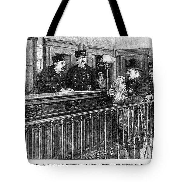 New York: Police Station Tote Bag by Granger