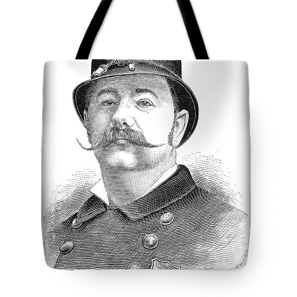 New York Policeman, 1885 Tote Bag by Granger