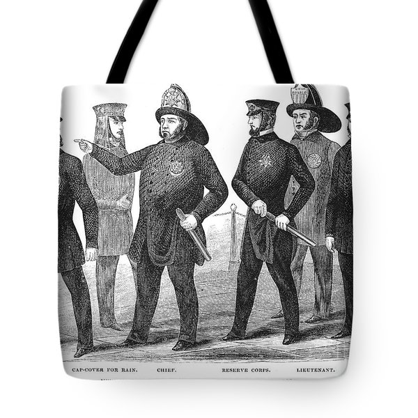 New York Policemen, 1854 Tote Bag by Granger