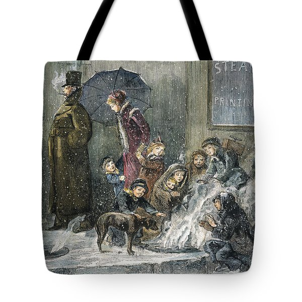 New York: Poverty, 1876 Tote Bag by Granger