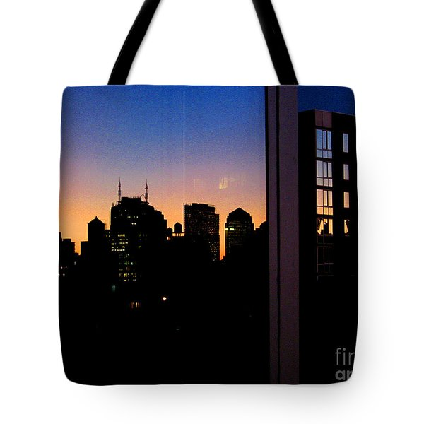 New York Reflections Tote Bag
