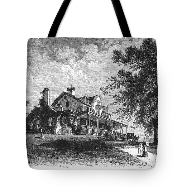New York State: Mansion Tote Bag by Granger