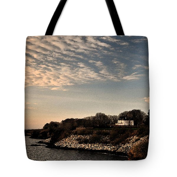 Tote Bag featuring the photograph Newport Vibrant Morning by Nancy De Flon