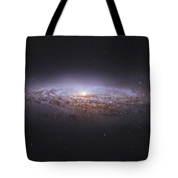 Ngc 2683, Unbarred Spiral Galaxy Tote Bag by Robert Gendler