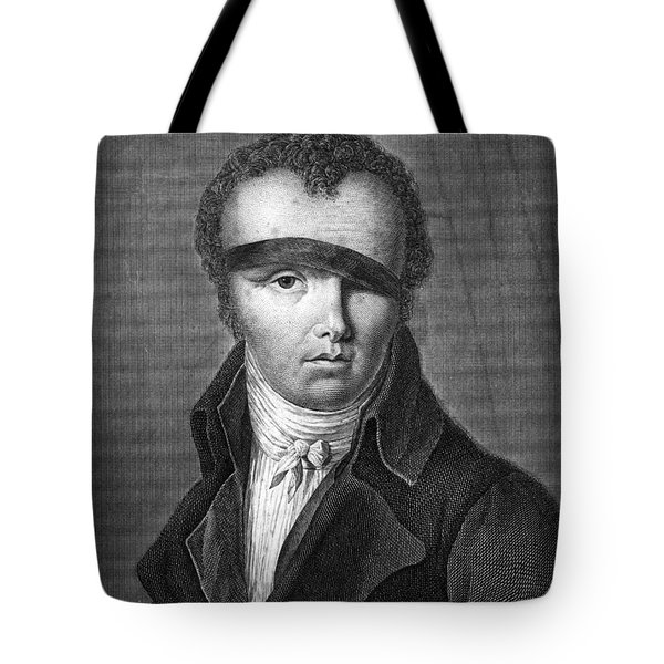 Nicolas-jacques Cont�, French Inventor Tote Bag by Photo Researchers