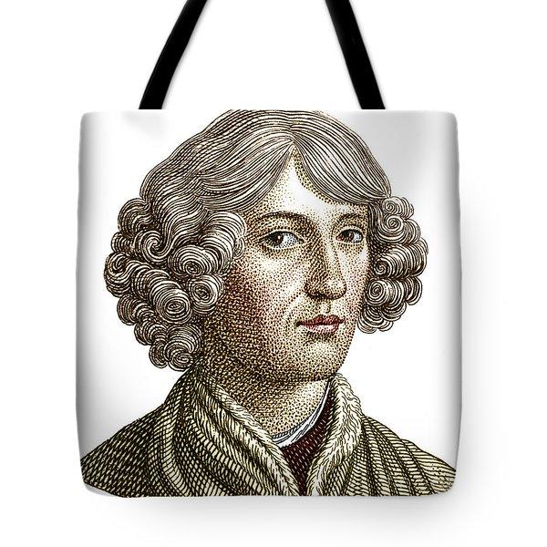 Nicolaus Copernicus, Polish Astronomer Tote Bag