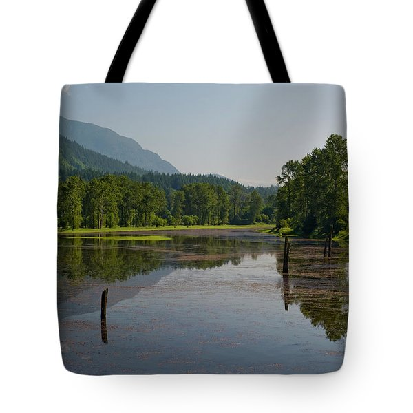 Nicomen Slough 2 Tote Bag