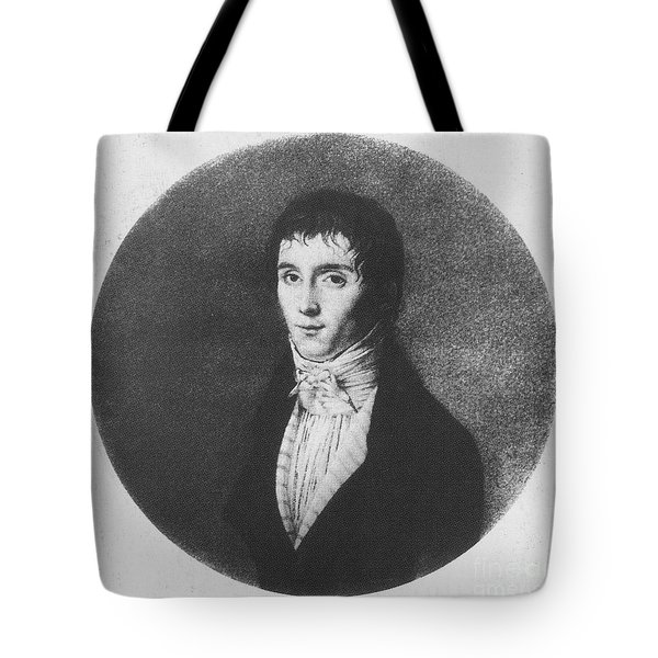 Nic�phore Ni�pce, French Inventor Tote Bag by Photo Researchers