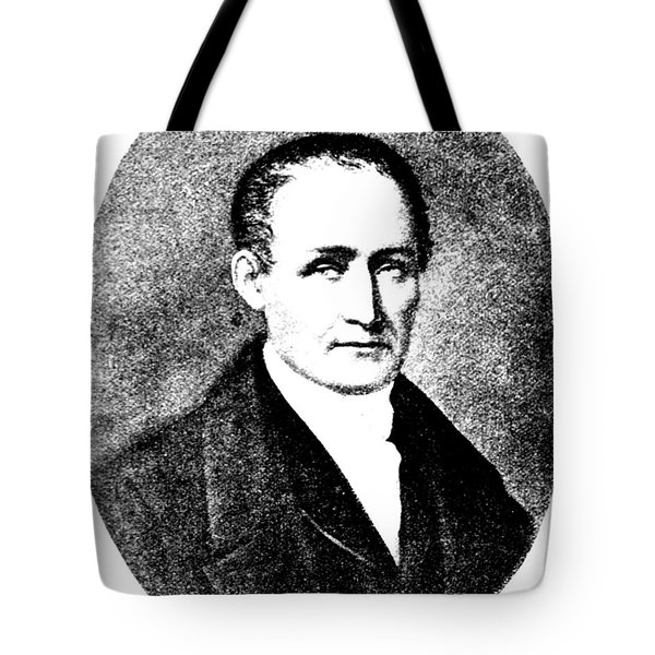 Nic�phore Ni�pce, French Inventor Tote Bag by Science Source