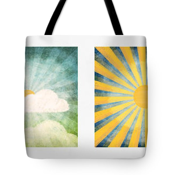 Night And Day  Tote Bag by Setsiri Silapasuwanchai